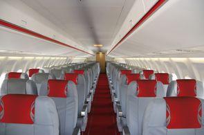 Kabine Gruppenflugzeug Fokker 100