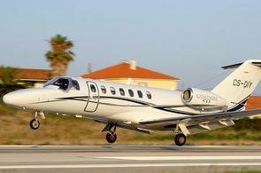 Cessna CitationJet CJ3 beim Start