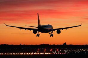 Airbus A320 im Landeanflug