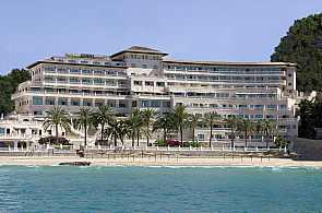 Ansicht Hotel Nixe Palace vom Meer