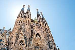 """Der """"Klassiker"""" bei einer Incentive-Reise nach Barcelona: Ein Besuch der Sagrada Familia"""