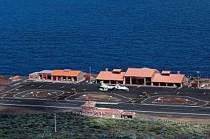 Blick auf den Flughafen von El Hierro